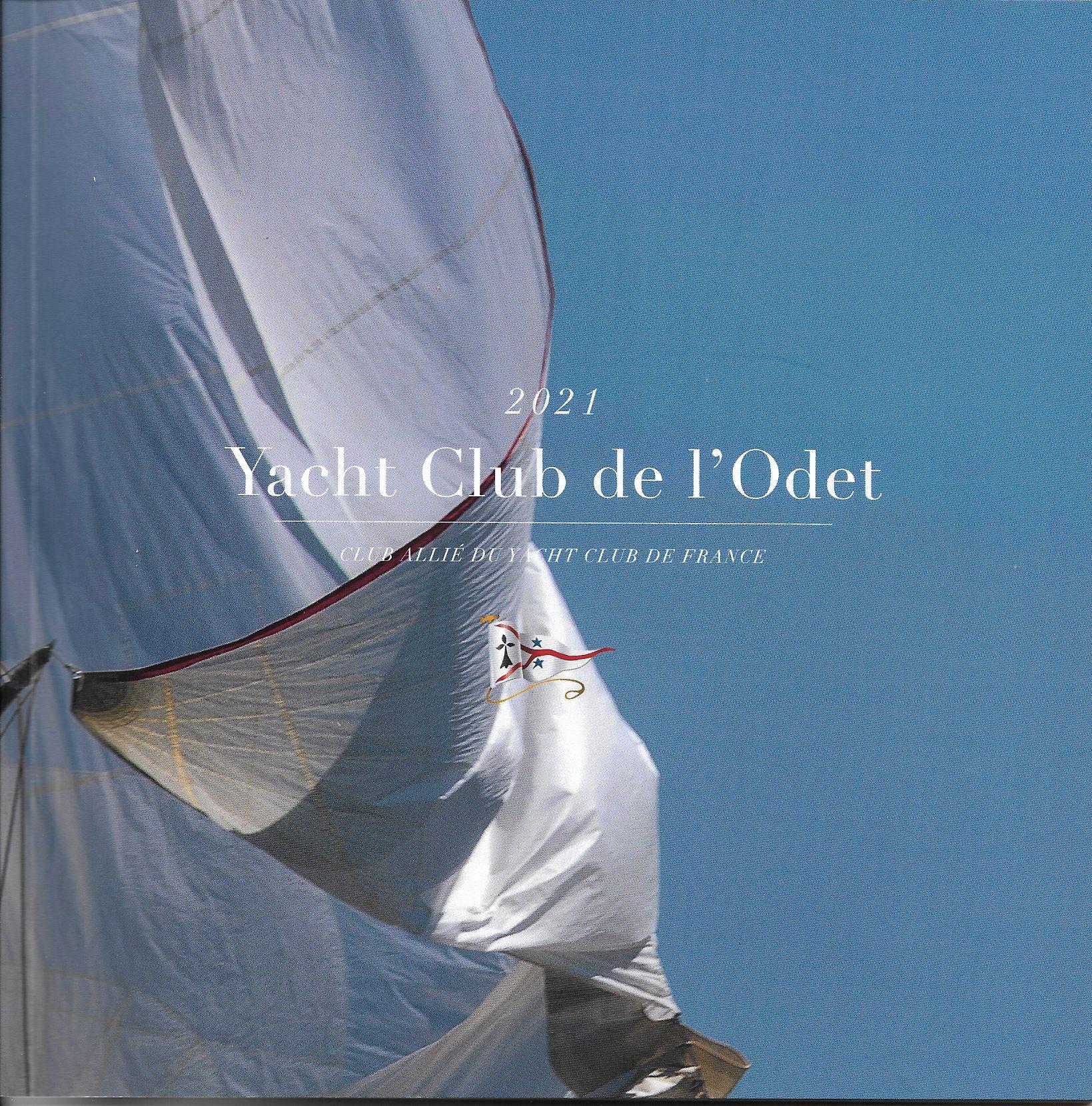 Plaquette annuelle Yacht Club de l'Odet